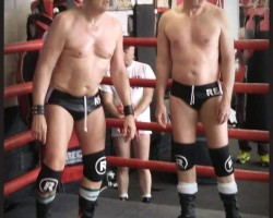 tag match at Denton ring for gbw